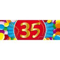Shoppartners 35 jaar sticker