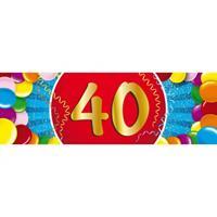 Shoppartners 40 jaar sticker