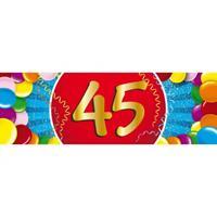 Shoppartners 45 jaar sticker