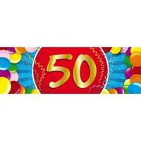 Shoppartners 50 jaar sticker