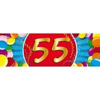 Shoppartners 55 jaar sticker