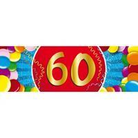 Shoppartners 60 jaar sticker