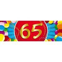 Shoppartners 65 jaar sticker