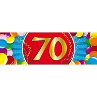 Shoppartners 70 jaar sticker