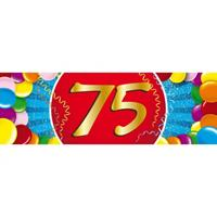 Shoppartners 75 jaar sticker