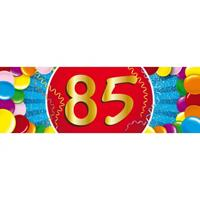 Shoppartners 85 jaar sticker