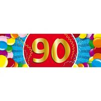 Shoppartners 90 jaar sticker