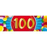 Shoppartners 100 jaar sticker