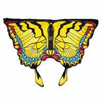 Bellatio Gele zwaluwstaartvlinder vleugels voor kids