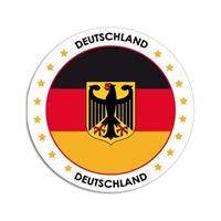 Shoppartners Duitsland sticker rond 14,8 cm