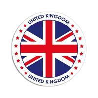 Shoppartners United Kingdom sticker rond 14,8 cm