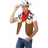 Cowboy verkleed set voor heren