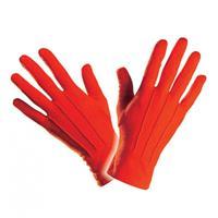 Bellatio Rode handschoenen kort