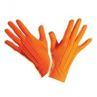 Bellatio Oranje handschoenen kort