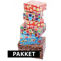 Sinterklaas kadopapier pakket