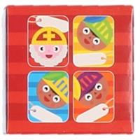Bellatio Sinterklaas - Sint kado stickers cartoon 50 stuks