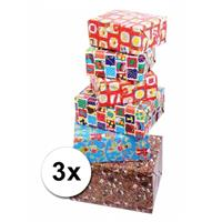 Sinterklaas - Sinterklaas inpakpapier 3 rollen