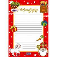 Folat Sinterklaas verlanglijstjes 6 stuks