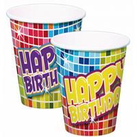 Folat Bekertjes Happy Birthday 6 stuks