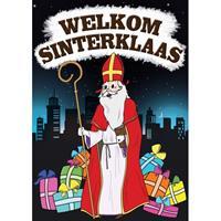 Shoppartners Deurposter Sinterklaas A1