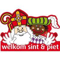 Folat Sinterklaas - Welkom Sint en Piet deurbord
