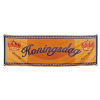 Bellatio Oranje Koningsdag banner 220 cm