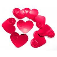 Mega confetti rode hartjes