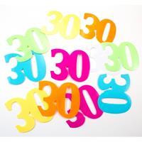 Folat Mega confetti 30 jaar