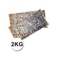Bellatio Luxe confetti 2 kilo multicolor