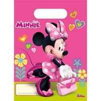 Disney Minnie Mouse feestzakjes 6 stuks