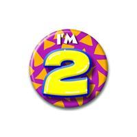 Bellatio Verjaardags button I am 2