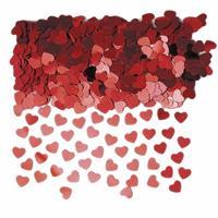 Haza Rode hartjes confetti 6 zakjes