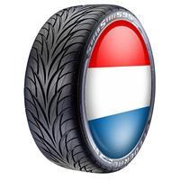 Bellatio Nederlandse vlag wieldop hoes 4 stuks