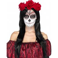 Day of the Dead rozen haarband Multi