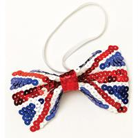 Bellatio Union Jack Engelse pailletten strik