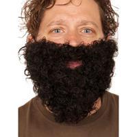 Bellatio Zwarte kabouter baard Zwart