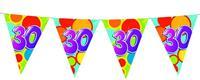 Vlaggenlijn leeftijd 30 jaar 10 meter