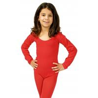 Bellatio Rode kinder bodysuit 116-128 Rood