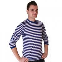 Bellatio Dorus trui blauw met wit voor heren