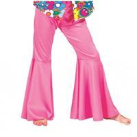 Bellatio Roze hippie broek voor kinderen