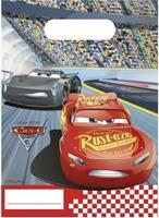 Disney feestzakjes Cars 3 6 stuks 23 cm