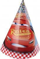 Disney feesthoedjes Cars 3 rood 6 stuks