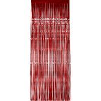 Folie deurgordijn rood 244 x 91 cm