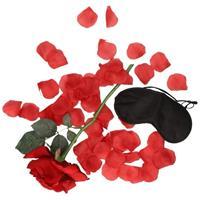 Bellatio Valentijnscadeau verassingspakket zwart masker