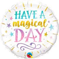 Folie ballon Magical Day 45 cm