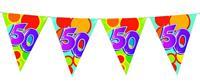 Vlaggenlijn 50 jaar gekleurd