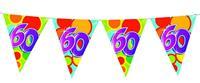 Vlaggenlijn leeftijd 60 jaar 10 meter