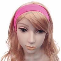 Bellatio Neon roze haarband