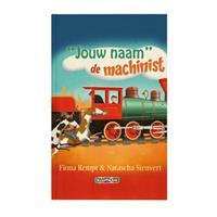 YourSurprise Boek met naam - Daan de machinist (Softcover)