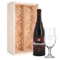 YourSurprise Bierpakket met glas - Westmalle Dubbel